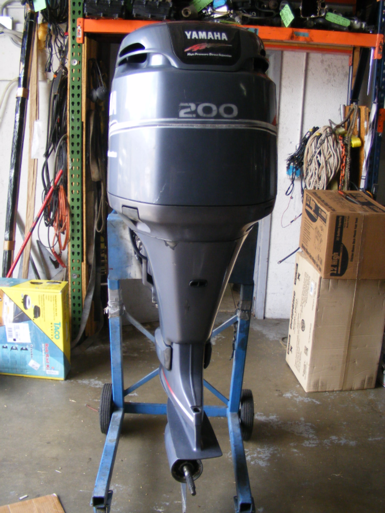 2000 Yamaha 200 Hp 25 Shaft Hpdi Remanufctured Outboard