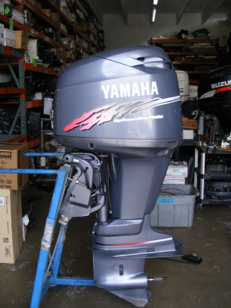 2000 yamaha 200 hp 25 shaft hpdi remanufctured outboard for Yamaha outboard parts house
