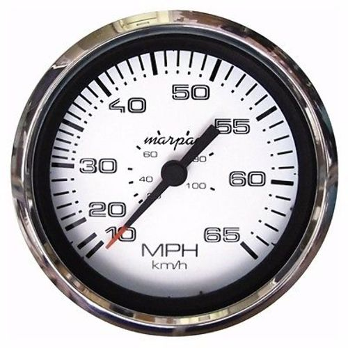 marpac premier speedometer 15 65 mph stainless bezel