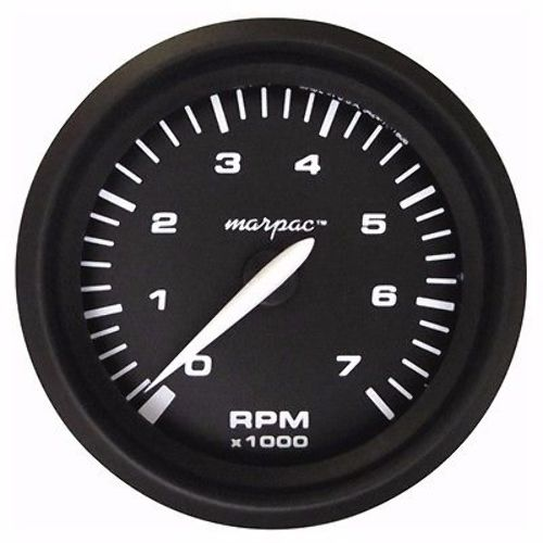 marpac premier tachometer 0 7 000 rpm ftc9532 domed