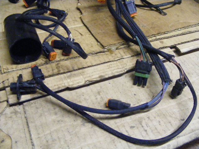 johnson evinrude 200 225 hp engine cable motor wire wiring