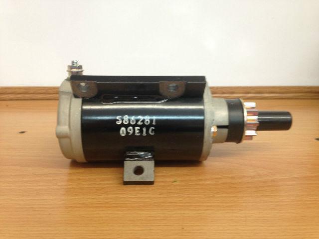 New genuine johnson evinrude 0586281 starter motor 40 50 for 50 hp motor starter