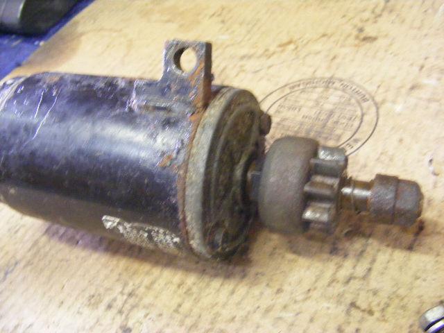 Johnson evinrude 40 48 50 hp electric starter motor 583482 for 50 hp dc motor