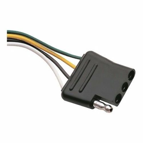 wesbar 4 way wiring harness connector 18 034 ground wire click thumbnails to enlarge