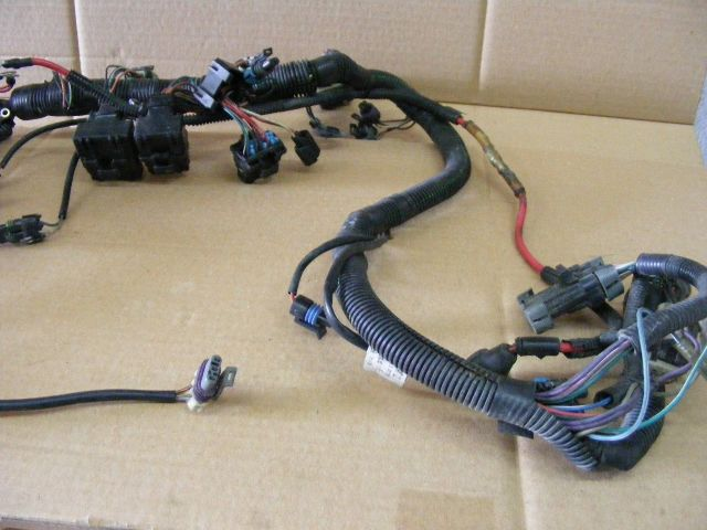 mercury 75 90 115 hp harness 3 0 l optimax engine wiring 84 880193a3 outboard ebay