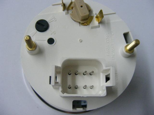 Johnson Evinrude Faria Chesapeake White Ss Tachometer With