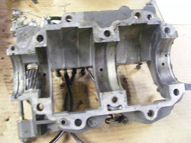 Suzuki 40 50 hp cylinder crankcase block back cover oil for Suzuki 40 hp outboard motor