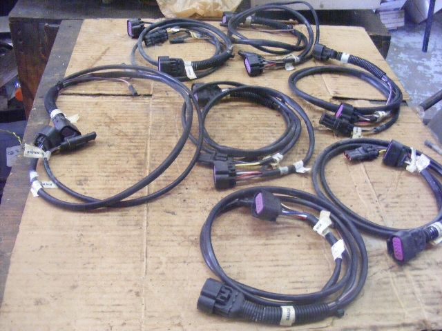 mercury tachometer cable assy wire wiring harness 84 ... a 6 wire telephone jack wiring