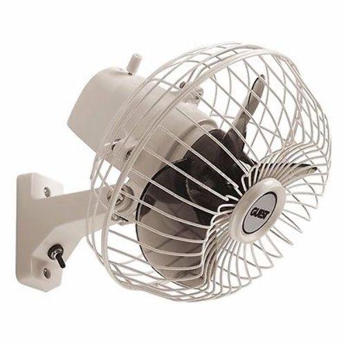 Guest 120 161 Adjustable Oscillating Marine Fan Mount On Wall