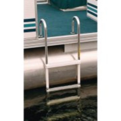 Jif Marine Asc 5 Folding Pontoon Boat Ladder 5 Step Molded