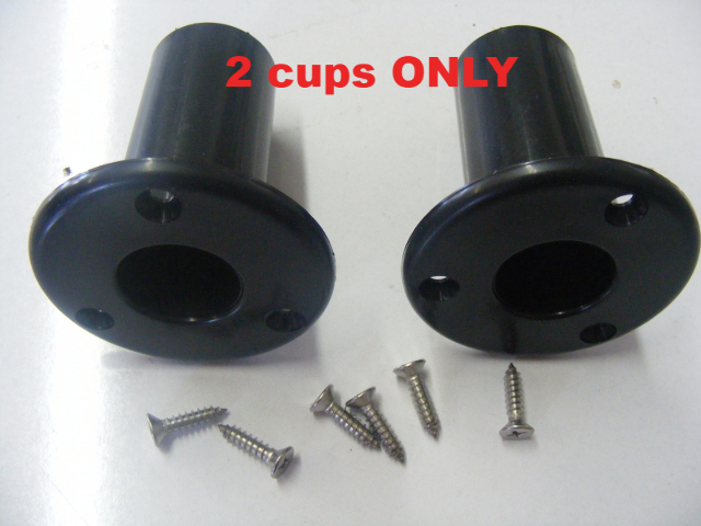 Jif Marine Pair Edf Mounting Cup Asc Cup For Folding