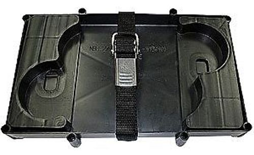 T H Marine Battery Tray With Hold Down Strap For Optima