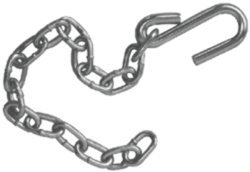 tiedown engineering 3  16 x 15 2 bow safety chain 81201
