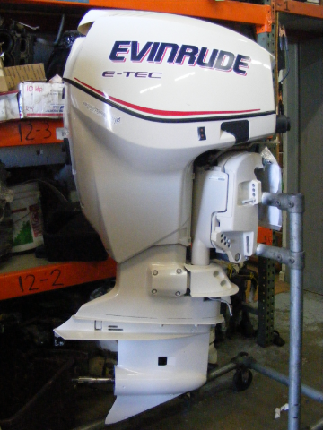 Sd Evinrude Johnson Hp Shaft Outboard Engine Motor E Tec Injection Efi on 25 Hp Johnson Outboard Parts