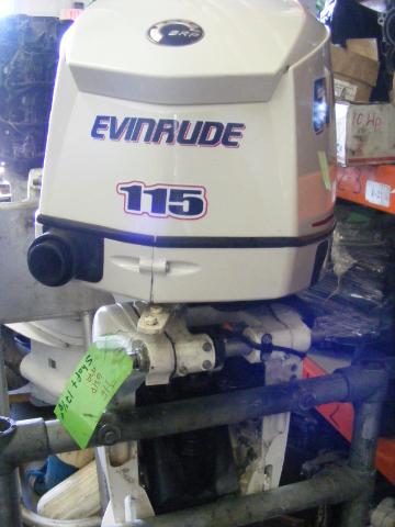 2007 Evinrude Johnson 115 Hp Shaft 25 Outboard Engine