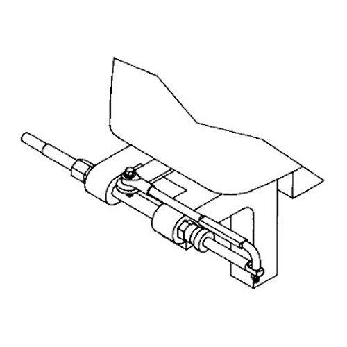 seastar steering connection kit tilt tube mounting  hinge
