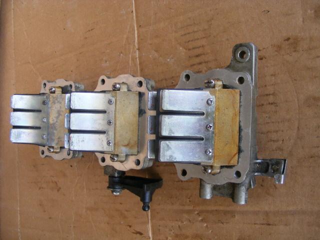 yamaha 85 hp 2 stroke manifold intake & reed valve 688 ... 2 stroke manifold diagram ktm 2 stroke wiring diagram