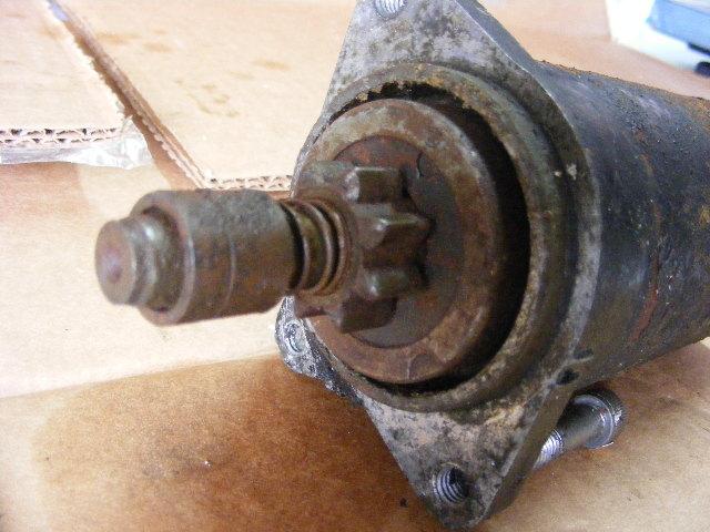 seadoo gtx bombardier 1996 electric starter motor