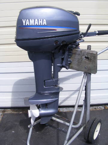 2005 yamaha 15 hp carburated 20 shaft tiller outboard