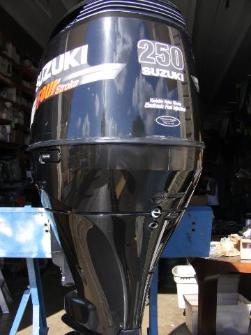 2005 suzuki df 250 hp 4 stroke 30 shaft outboard motor for Suzuki 2 5 hp 4 stroke outboard motor