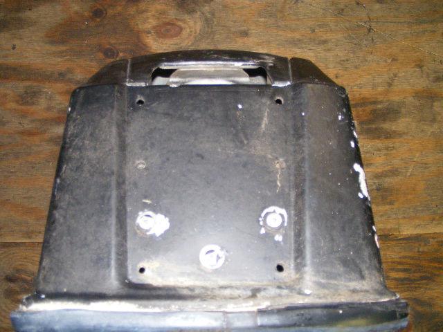 Johnson evinrude 48 hp engine motor cover 283515 boat for Boat motor covers johnson