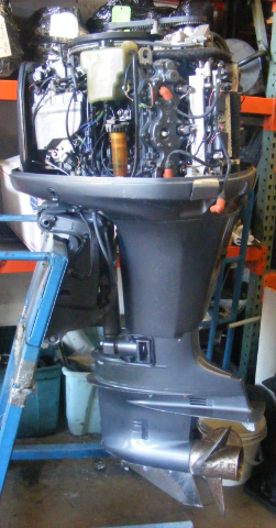 Yamaha 150 hp hpdi 2000 outboard 25 shaft rh engine 338 for Motor city powersports hours