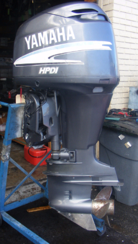 Yamaha 150 hp hpdi 2000 outboard 25 shaft rh engine 338 for Best prop for 25 hp yamaha 2 stroke