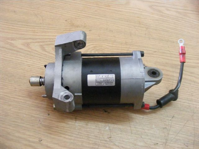 Yamaha 115 150 200 hp starter 6n7 81800 10 00 starting for 10 hp motor starter