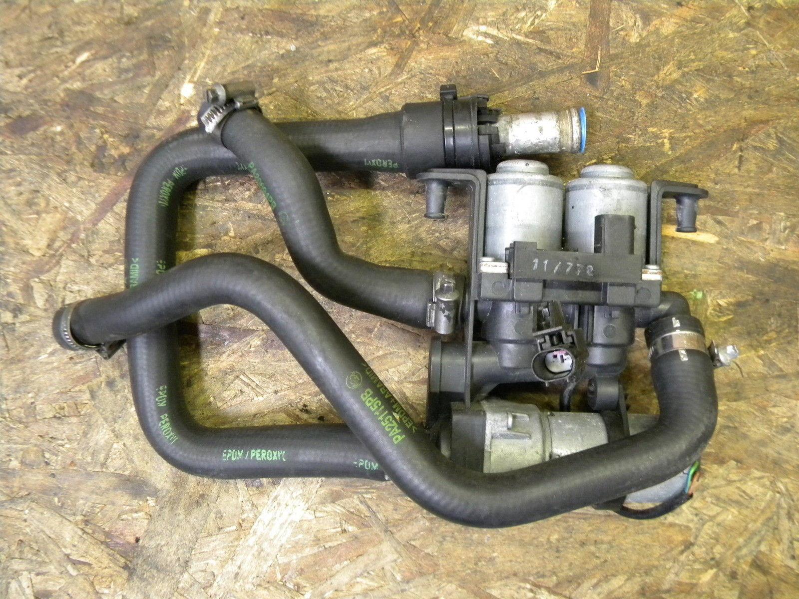 99 Bentley Arnage Heater System Valve Block W Auxiliary Water Pump