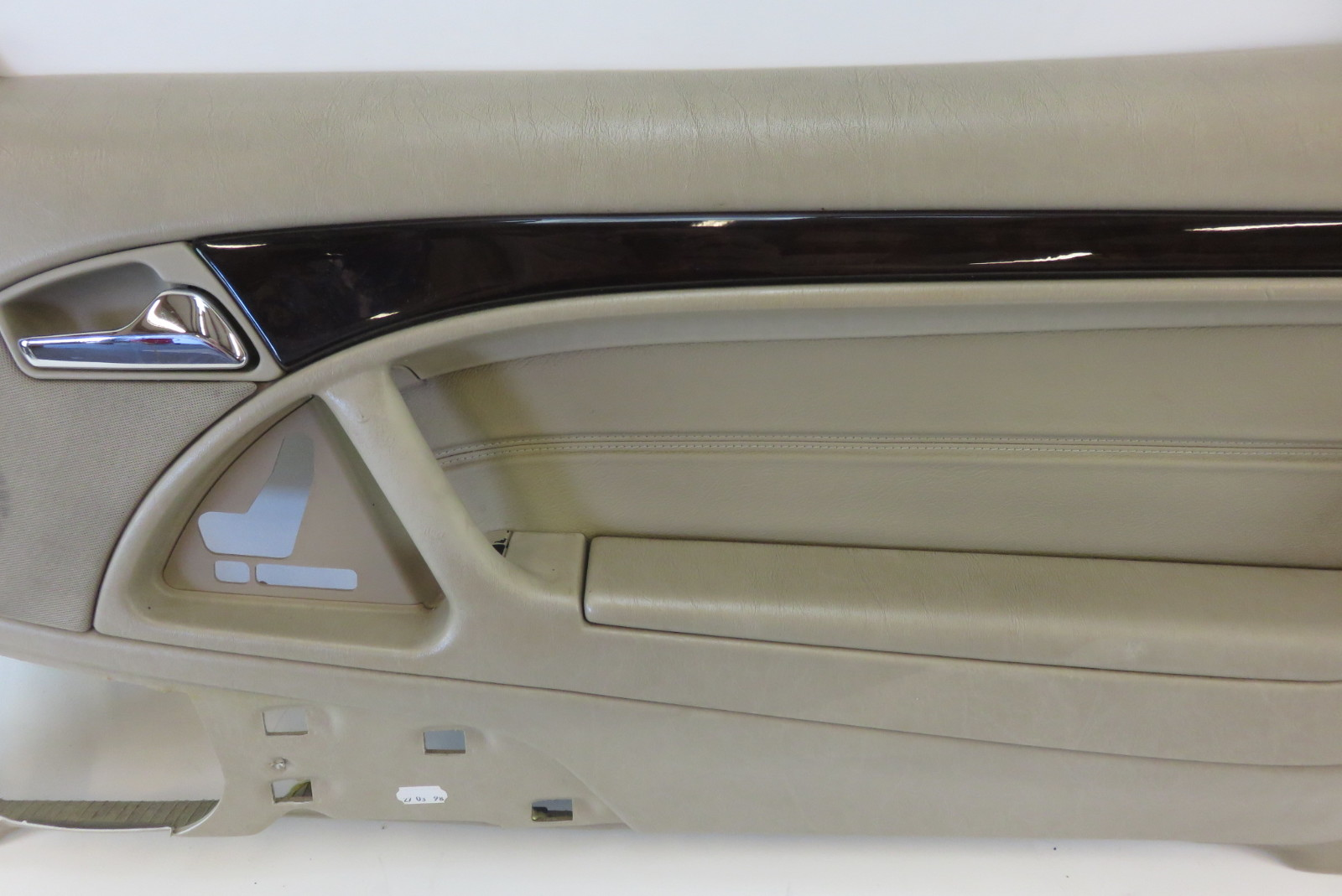 98 Mercedes R129 SL500 SL320 door panel, right, champagne ...