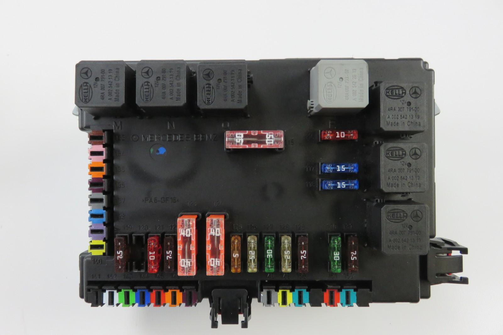 09 mercedes s63 w221 s550 fuse relay box sam module 2215405950 s auto parts