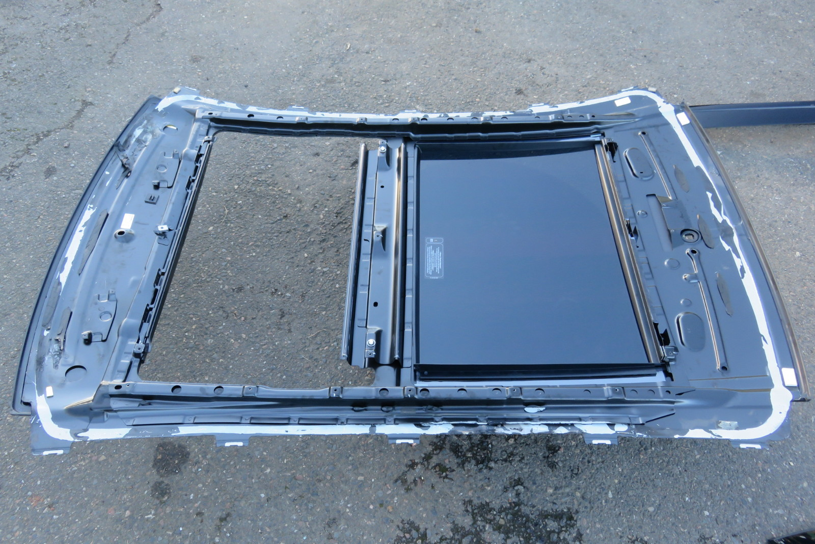 09 mercedes s63 w221 s550 panoramic sunroof top panorama for Mercedes benz sunroof repair