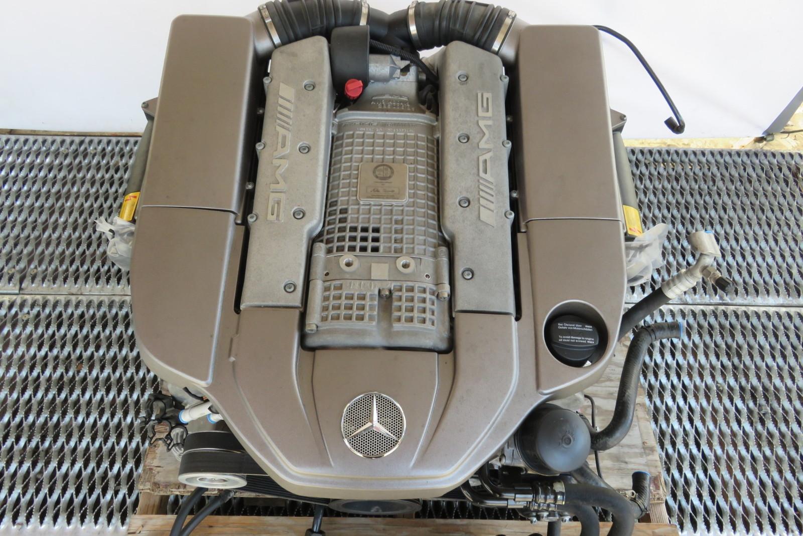 04 Mercedes R230 Sl55 Sl500 Engine  Motor V8  Supercharged