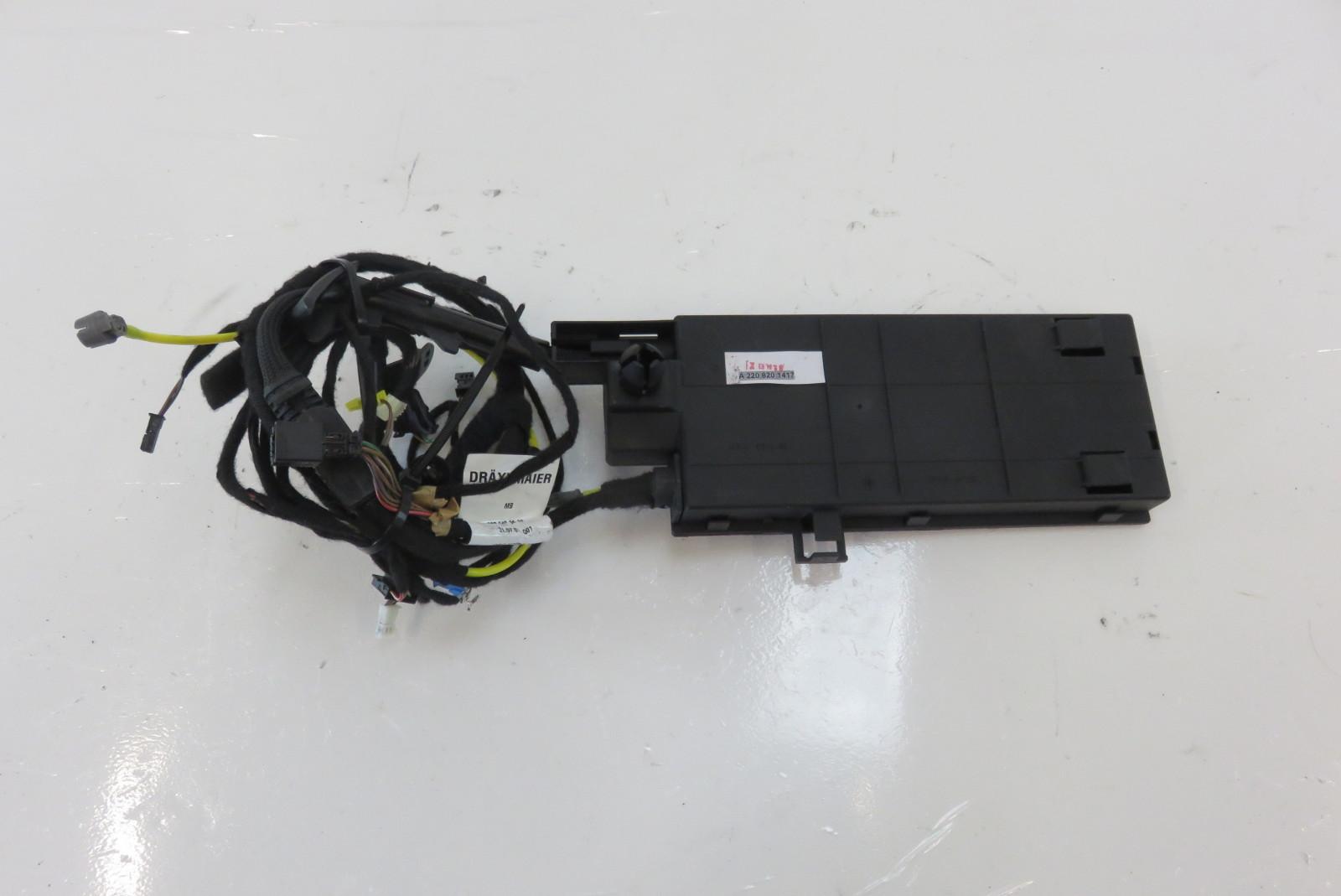 Superb Mercedes W220 S430 S500 Wiring Harness Trunk Lid 2208201417 Wiring Digital Resources Millslowmaporg