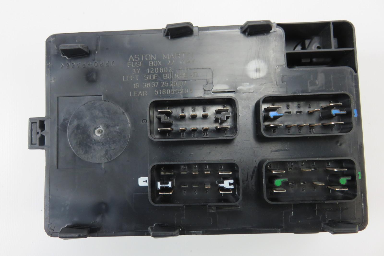03 Aston Martin DB7 left fuse box control module 37120602 ...