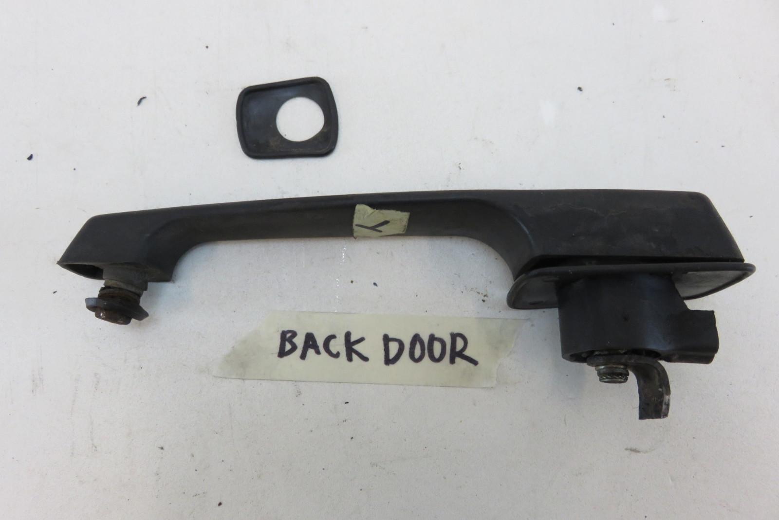 85 mercedes 280ge w460 door handle exterior rear back for Exterior rear house doors