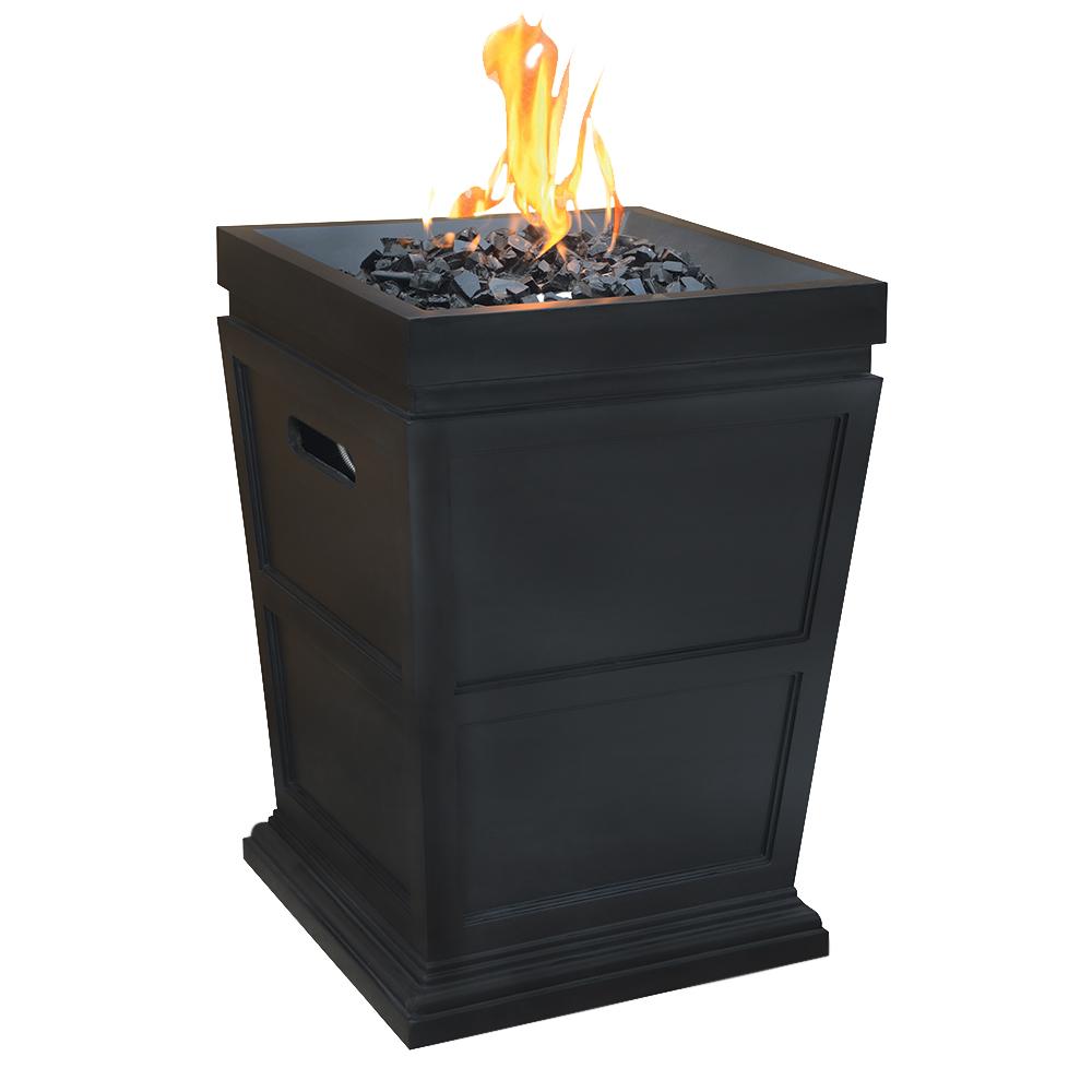 Steel Blue Rhino Outdoor Propane Gas Fire Pit Ebay