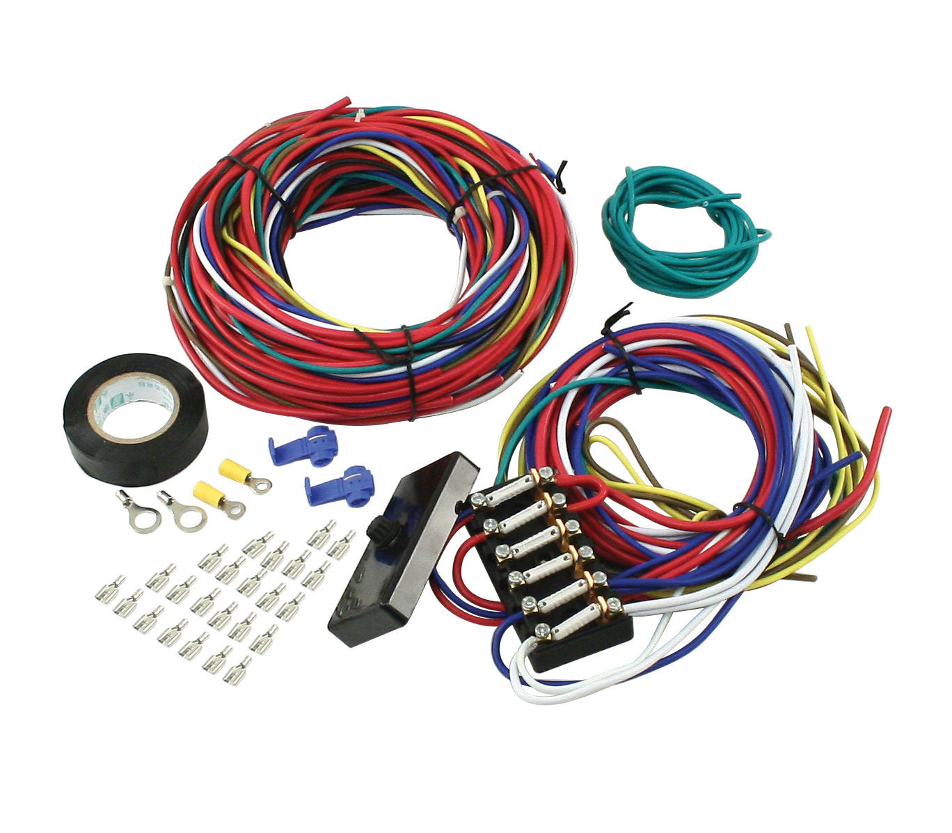 Empi Universal Wiring Harness Wiring  Diagram MSD 8860 Harness LED Wiring Harness 2014 Camaro Wiring Harness Diagram Data Hot Rod Circuit Universal Wiring Harness 8 Universal Trailer Wiring Harness