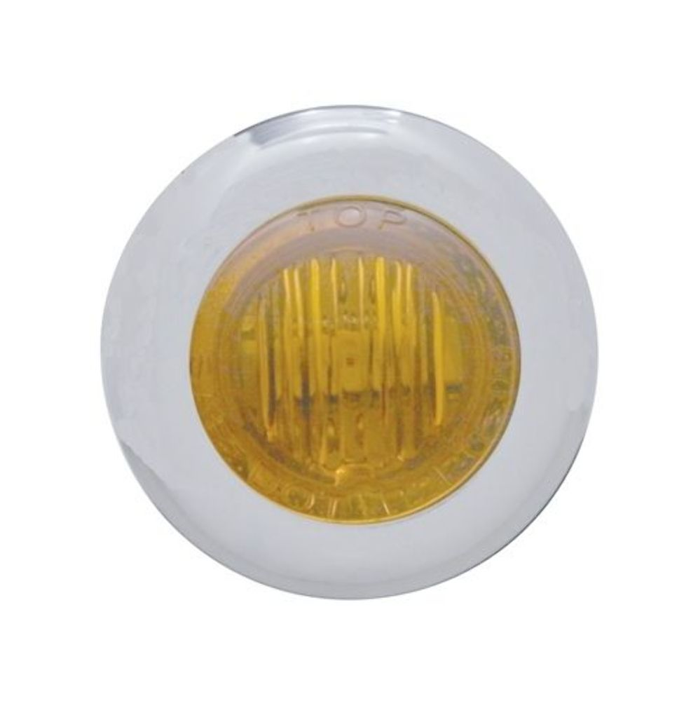 pro one 402200 mini marker light w amber lens 3 amber led 1 1 8 dual funct pirate mfg. Black Bedroom Furniture Sets. Home Design Ideas
