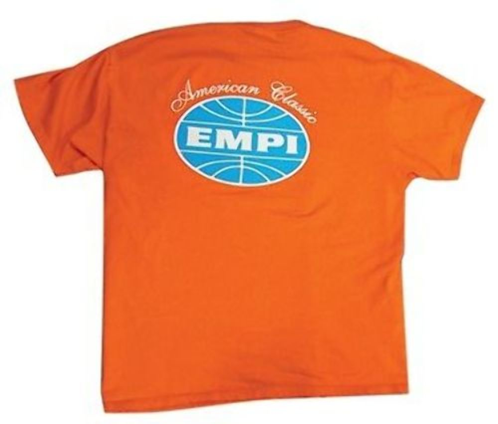 Empi t shirt vw bug american classic logo 100 cotton for All american classic shirt