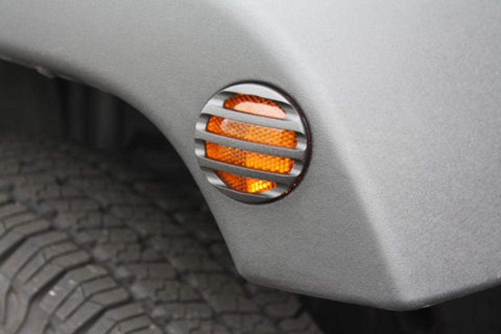 2007 15 Jeep Wrangler Jk Black Powder Coat Billet Side