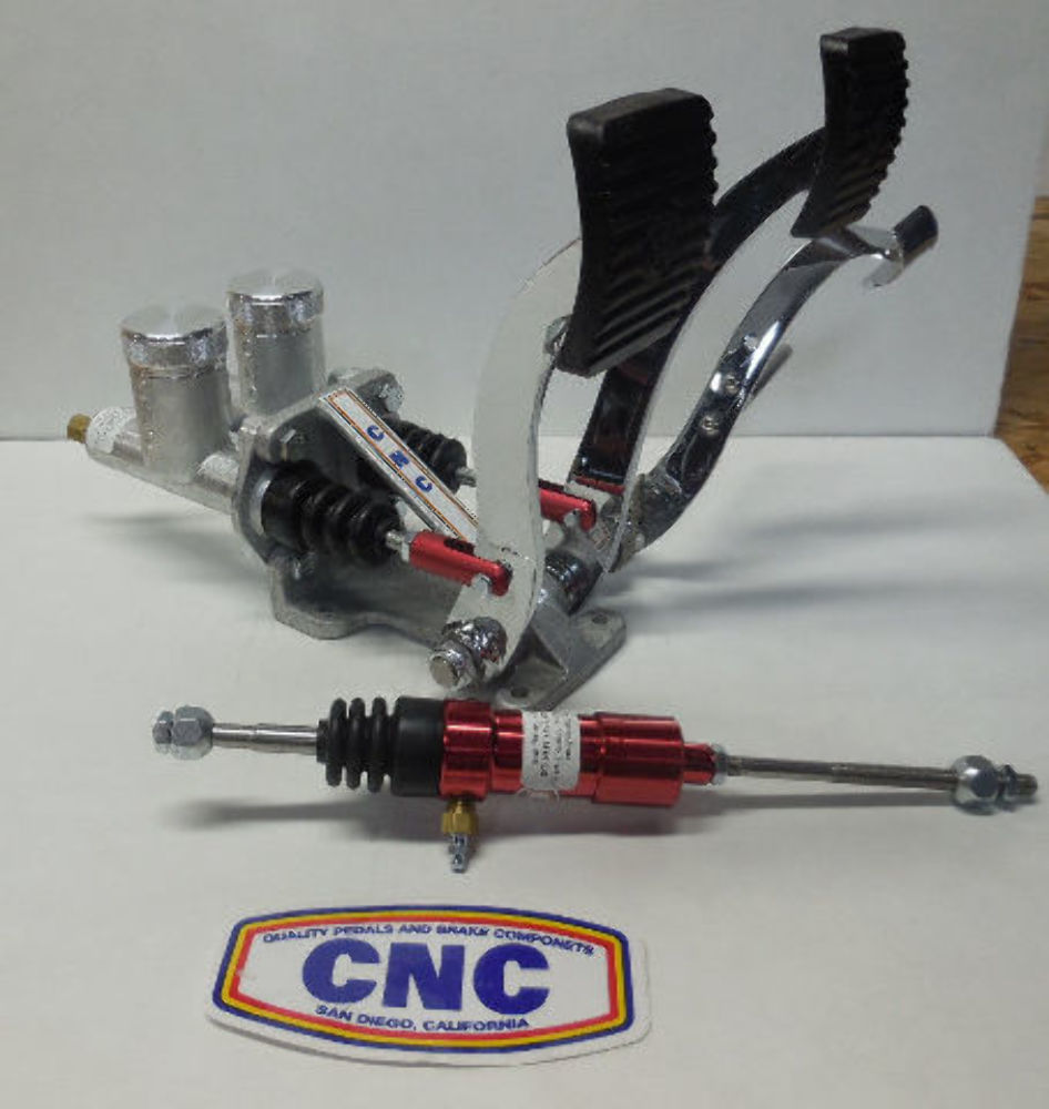 Sand Rail Horns : C n chrome pedals w slave for cable red vw dune buggy