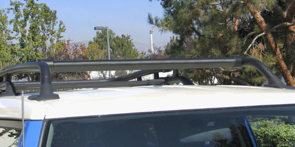 Pirate 2007 14 Toyota Fj Cruiser Black Billet Roof Rack