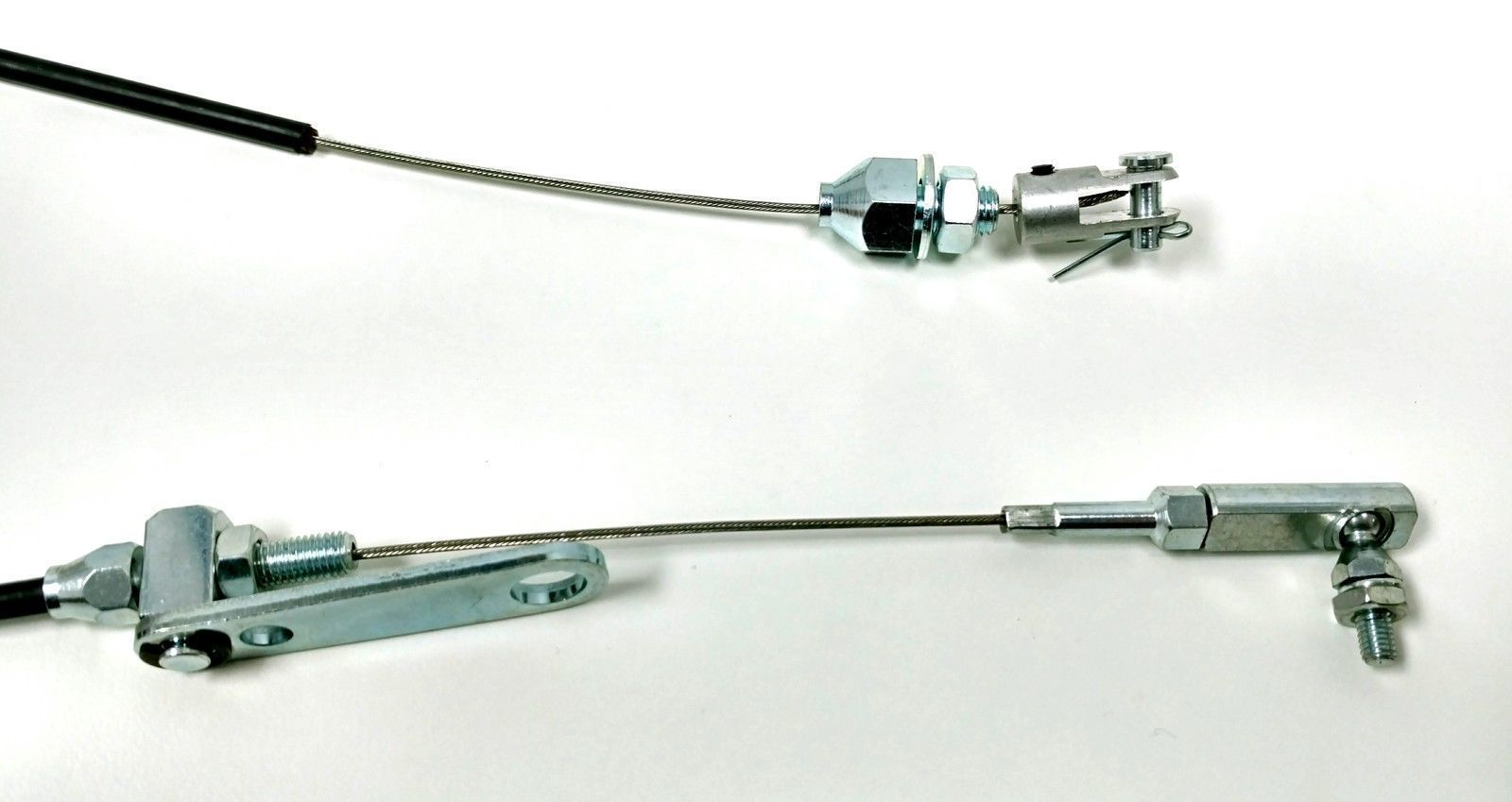 Hot Rod Cable : Hot rod chrome spoon throttle pedal kit w quot black cable