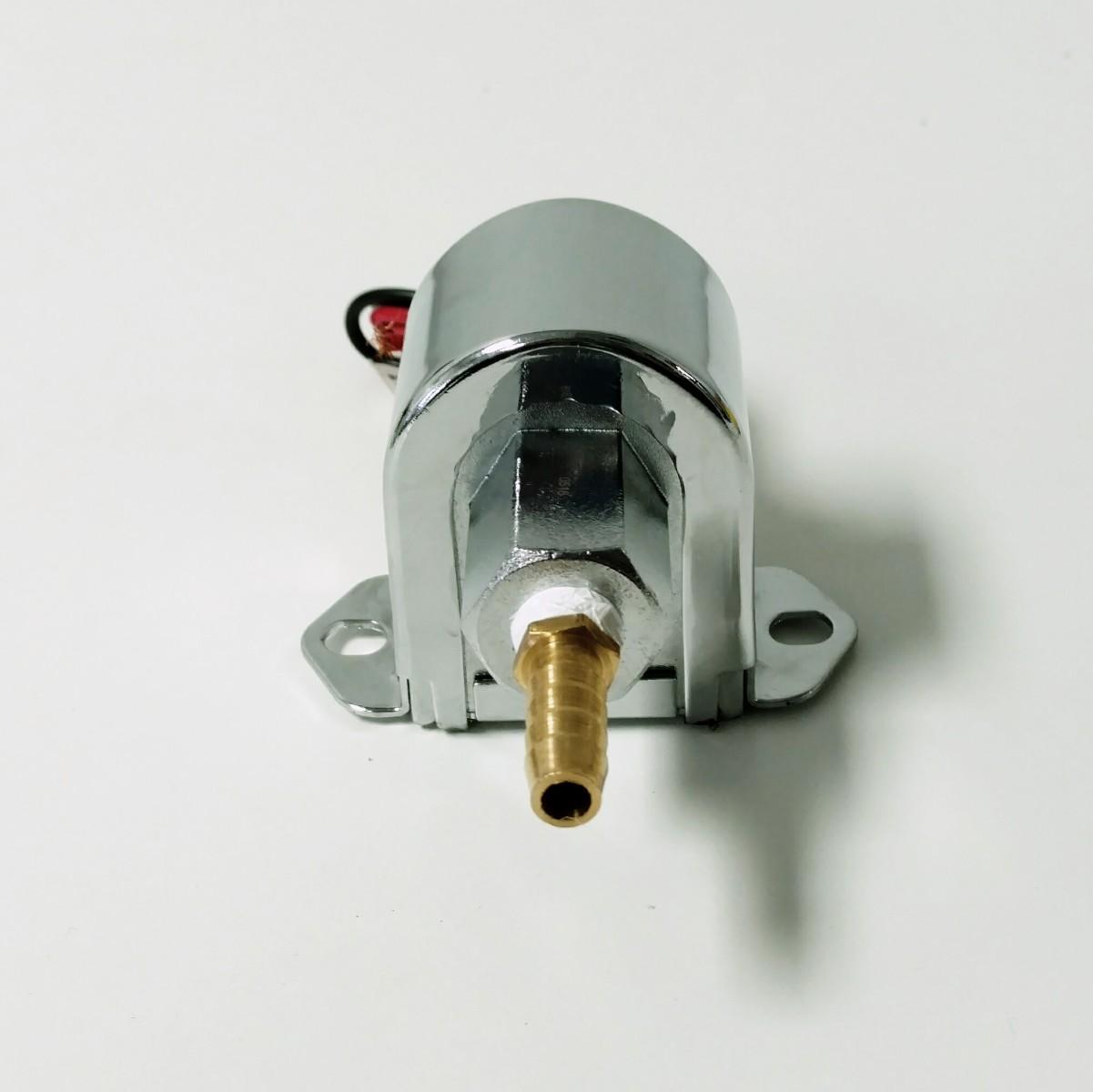 Street Rod Fuel Pump : Universal chrome round electric fuel pump psi hot