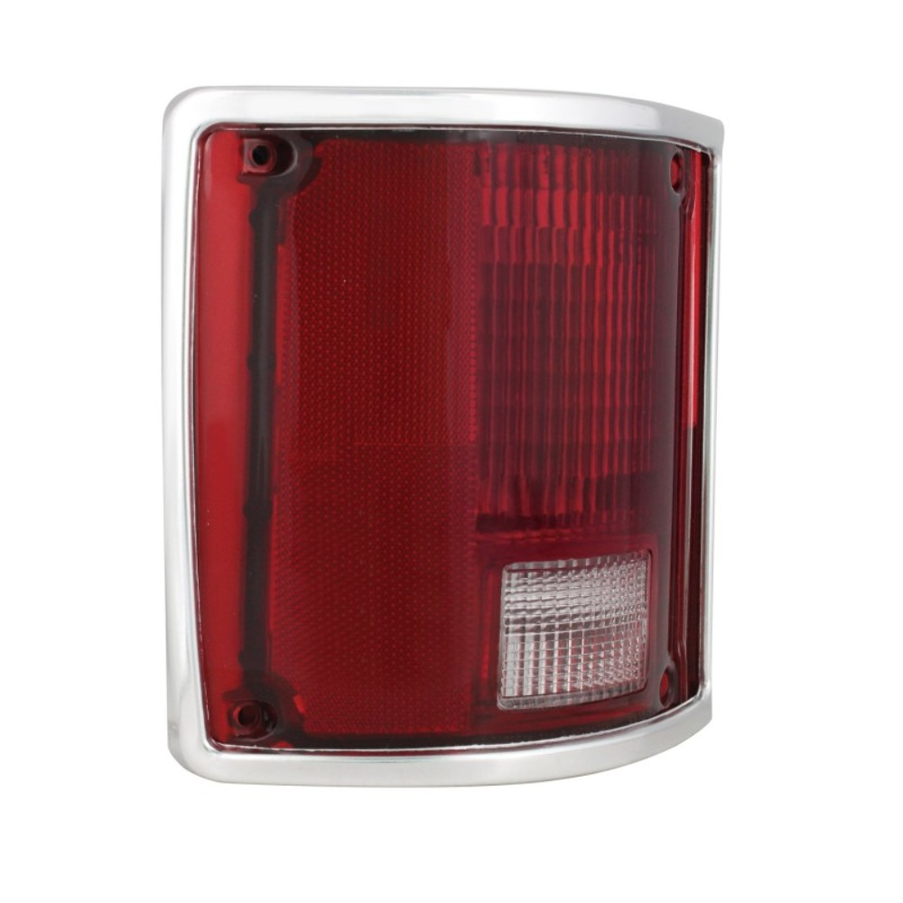 2  1973  gmc truck tail lamp assembly with trim