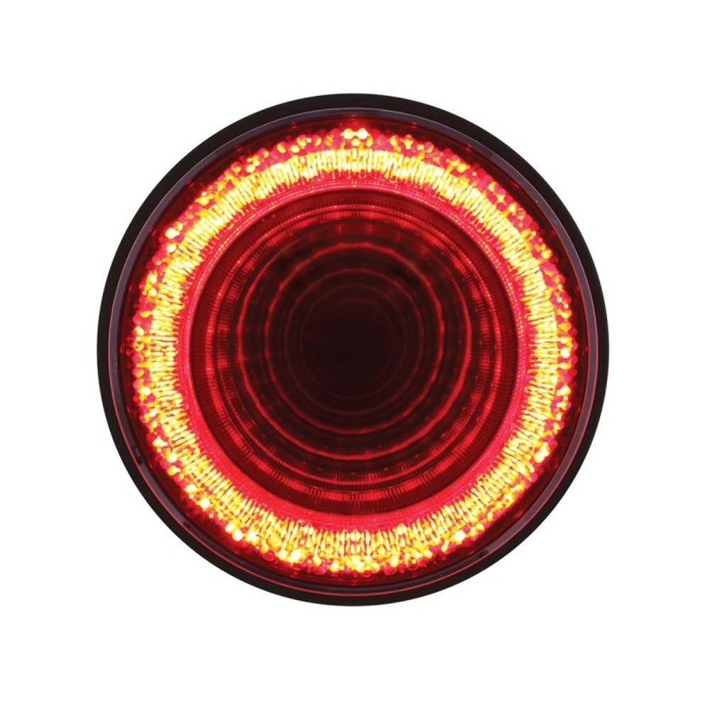 2 24 led 4 round s t t p t c mirage light red led red lens universal pirate mfg. Black Bedroom Furniture Sets. Home Design Ideas