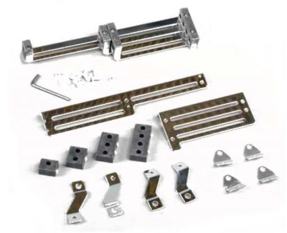 Stainless Steel Spark Plug Adjustable Slider Wire Looms 11\