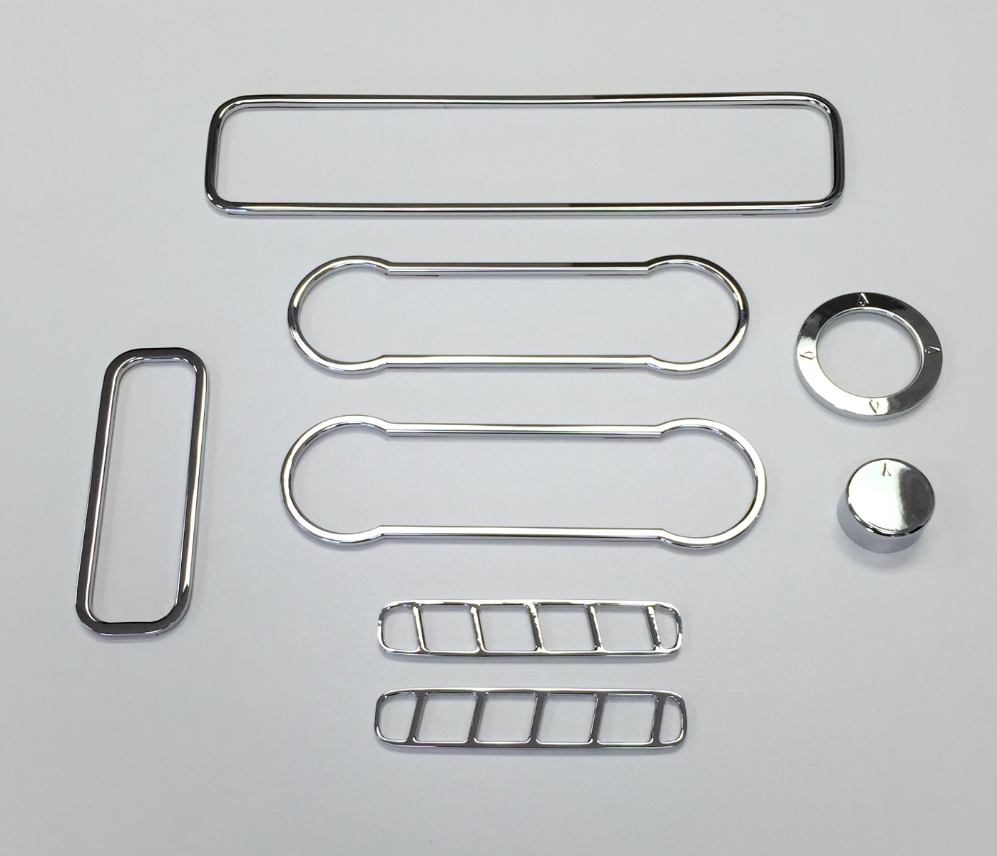 2010 2014 Ford Mustang Chrome Billet 8pc Interior Trim Kit Pirate Mfg