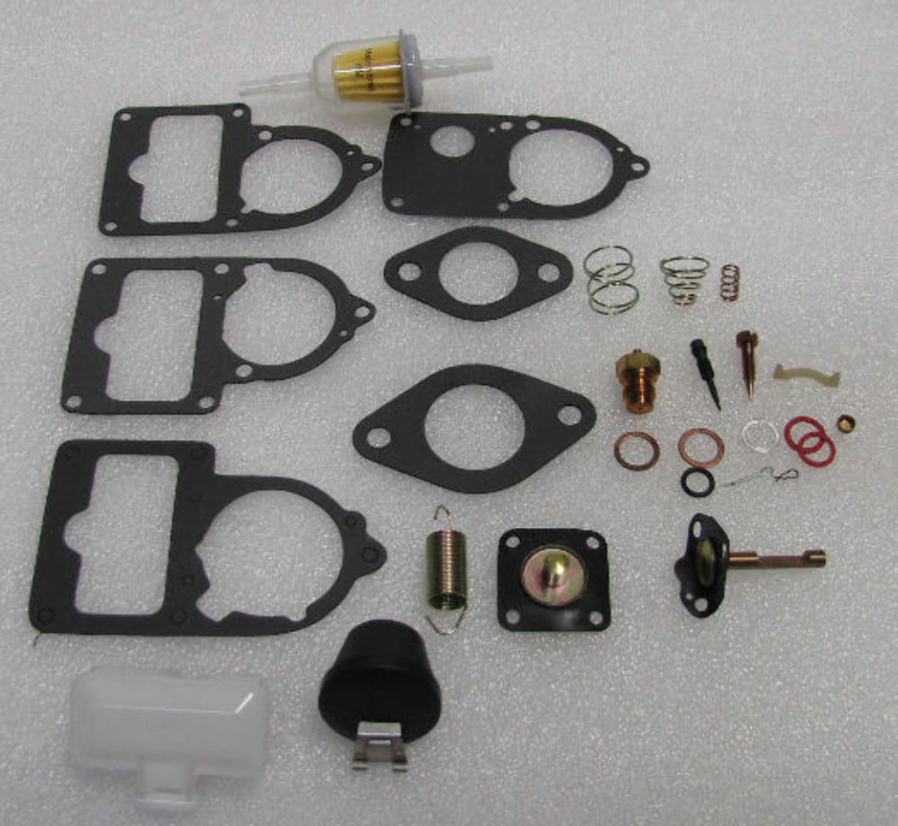 Classic Vw Beetle Tool Kit: VW Carburetor 34/30/28 Pict 3 ReBuild Kit Univ. WITH